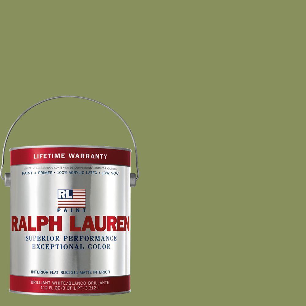 Ralph Lauren 1-gal. Barbary Fig Flat Interior Paint