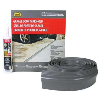 10 ft. Gray Garage Door Threshold Kit