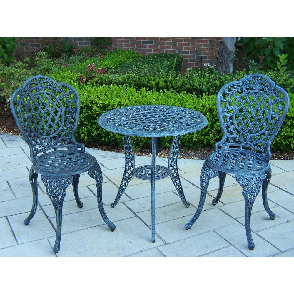 Oakland Living Mississippi 3-Piece Patio Bistro Set-2005 ... on Oakland Living Bistro Set id=83037