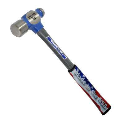24 oz. Steel Ball Pein Hammer with 14 in. Fiberglass Handle