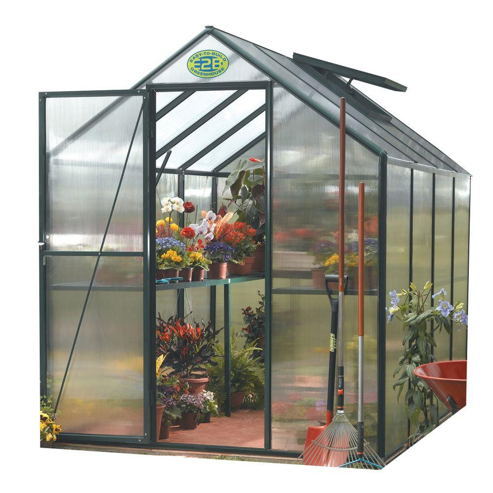 STC 6 ft. x 8 ft. Greenhouse