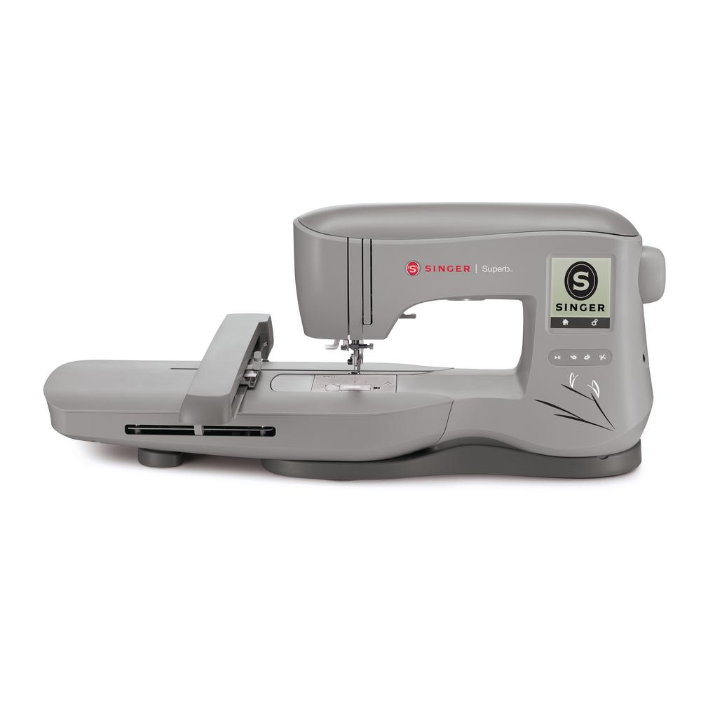 SINGER SEWING CO. Embroidery Machine with Automatic Needl...