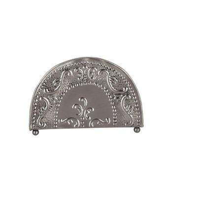 7.25 in. x 2 in. x 5.5 in. Antique Embossed Victoria Napkin Holder