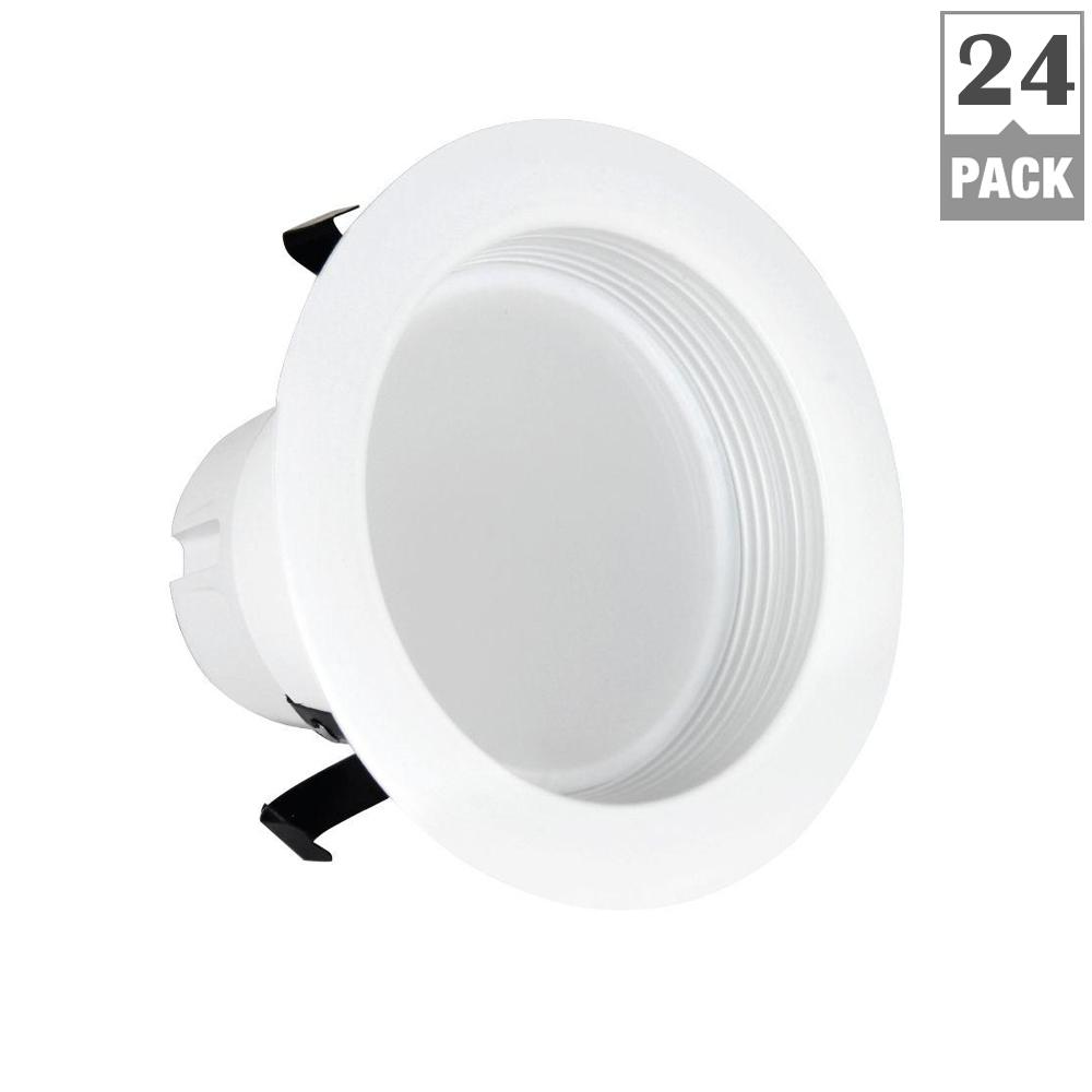 Feit 50w Equivalent Soft White 4 In Baffle Trim Re