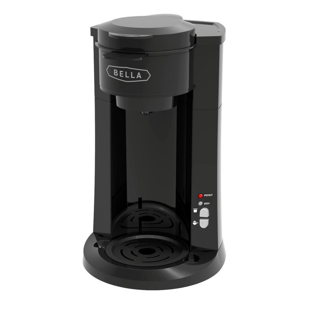 Bella Dual Brew Single Serve Coffee Maker Bla14587 The