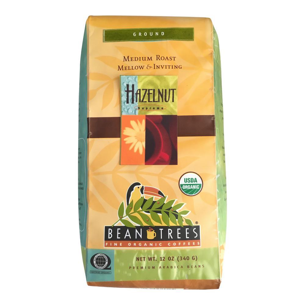 12 oz. Hazelnut Coffee Grounds (3-Bags)