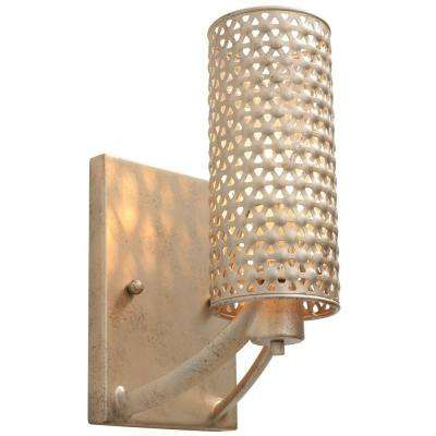 Casablanca 1-Light Zen Gold Vanity Light