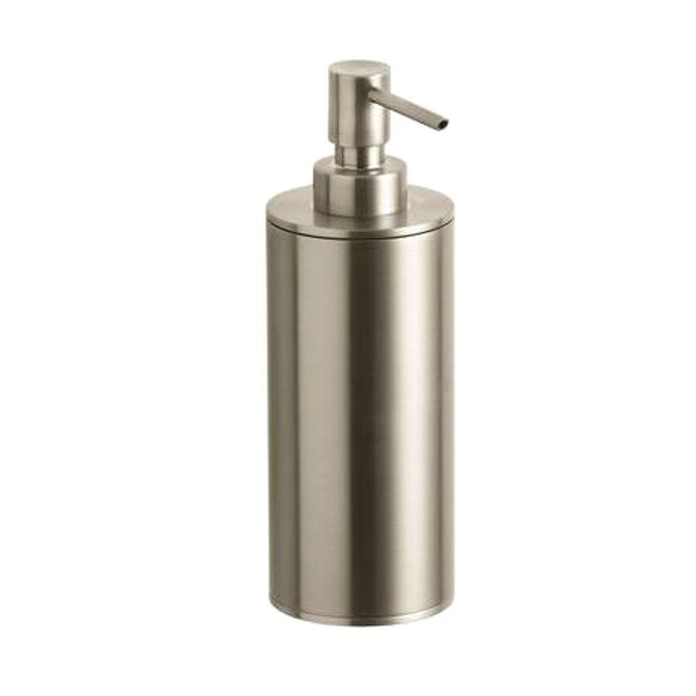 Purist Countertop Metal Soap Dispenser in Vibrant Brushed Bronze