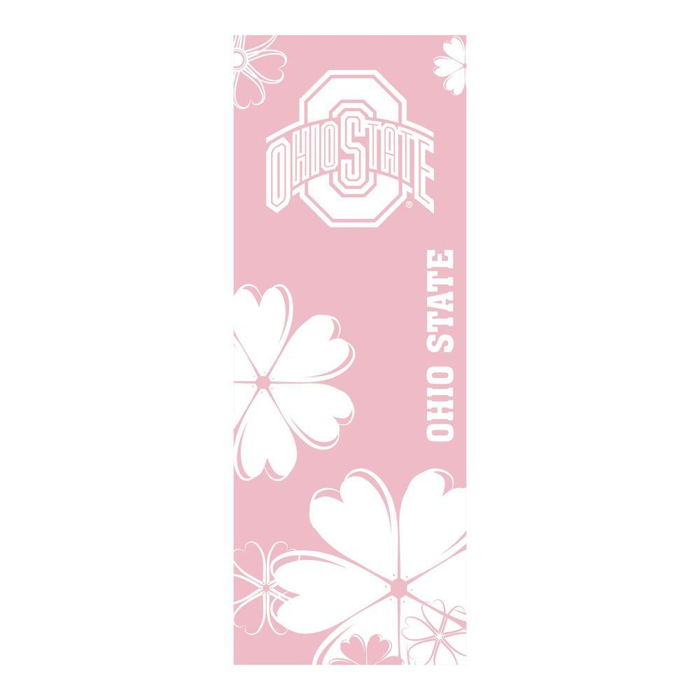 FANMATS Ohio State University 24 in. x 67.5 in. Yoga Mat-DISCONTINUED