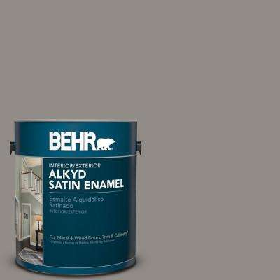 1 gal. #790F-4 Creek Bend Satin Enamel Alkyd Interior/Exterior Paint