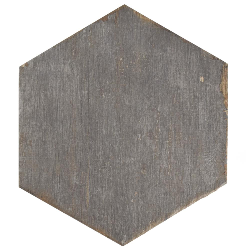 Merola Tile Retro Hex Cendra 14 1 8 In