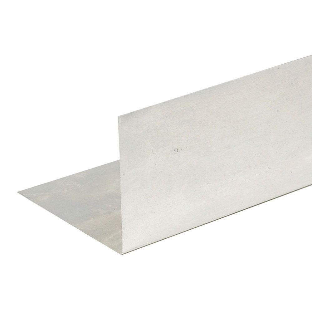 4.5 in. x 4.5 in. x 10 ft. Aluminum Angle Flashing