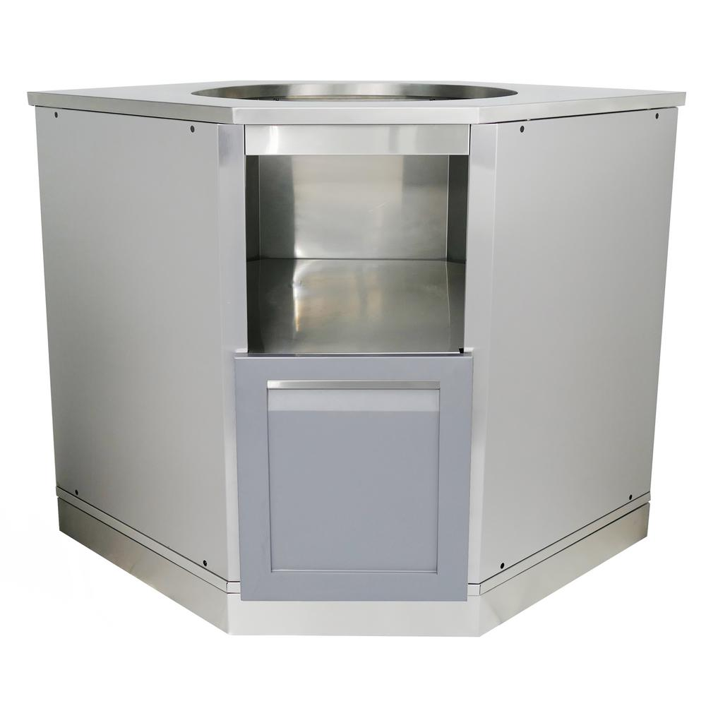 outdoor kitchen stainless steel cabinet doors