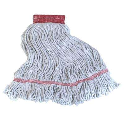 4-Ply Large Cotton Blend Looped-End Mop (12-Pack)
