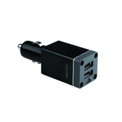 20-Watt Dual Port USB Car Charger Designed for iPad, iPhone and iPod