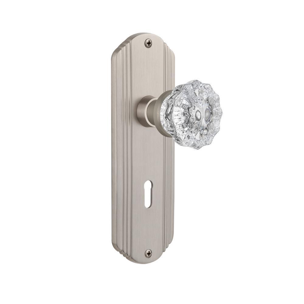 First Watch Security Satin Nickel Full Lip Door Strikes 2