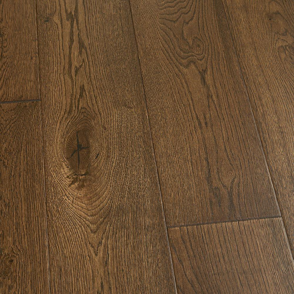 Malibu Wide Plank Take Home Sample French Oak Stinson Click Lock Hardwood Flooring 5 In. X 7 In.