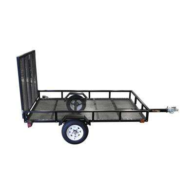 5 ft. x 8 ft. Utility Trailer Kit with Rear Loading Ramp