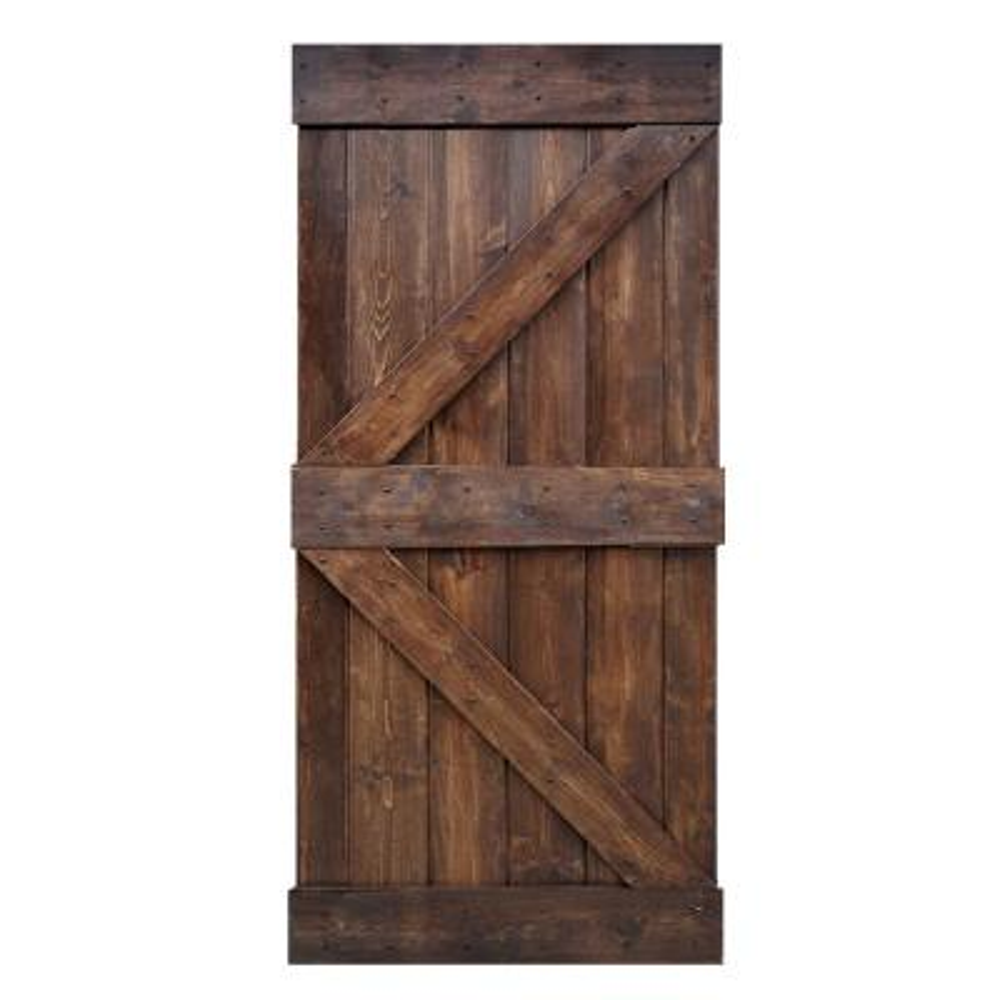 Wood Barn Doors Interior Closet Doors The Home Depot