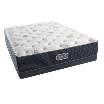 Port Royal Point Queen Plush Low Profile Mattress Set