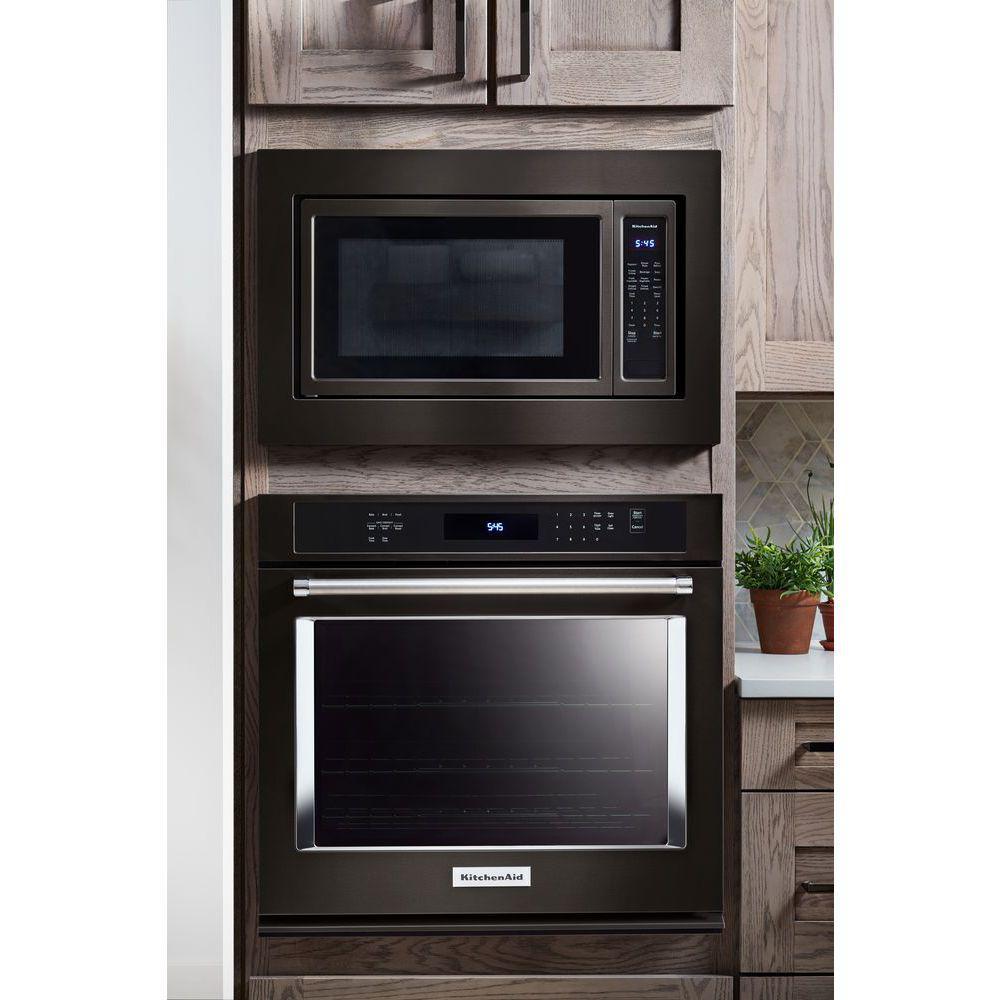 Superb ... Kitchenaid Countertop Microwave Trim Kit On Samsung Microwave Mounting  Kit, Microwave Frame Kit, ...