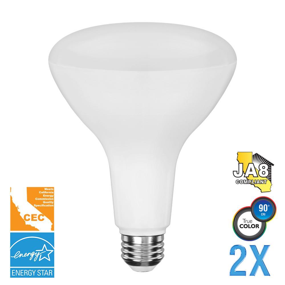 80-Watt Equivalent BR40 Dimmable LED Light Bulb