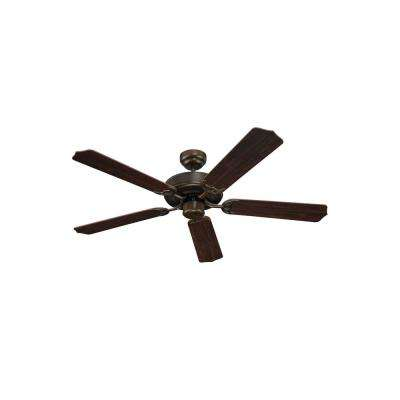 Quality Max Plus 52 in. Russet Bronze Ceiling Fan