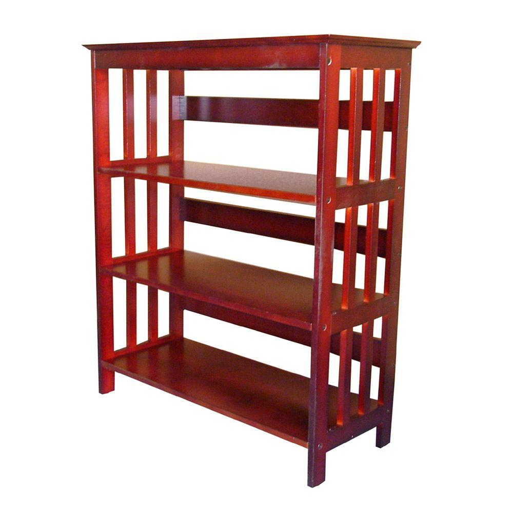 Home decorators collection cherry open bookcase r5416 ch for Home decorators collection logo