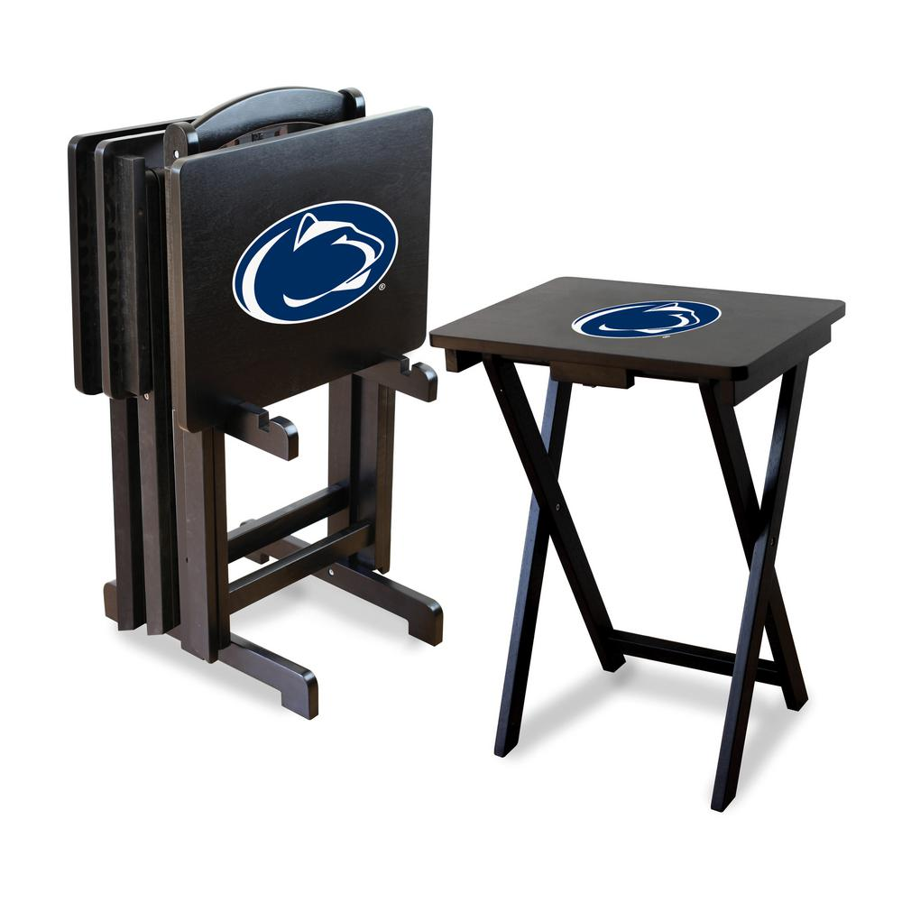 Penn State TV Trays with Stand