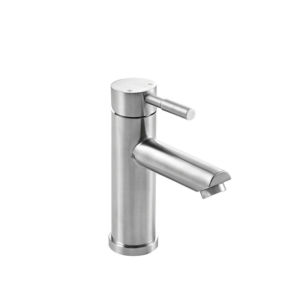 OVE Decors Cleo Single Hole Single-Handle Bathroom Faucet in Brushed Nickel