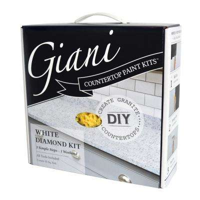 White Diamond Countertop Paint Kit