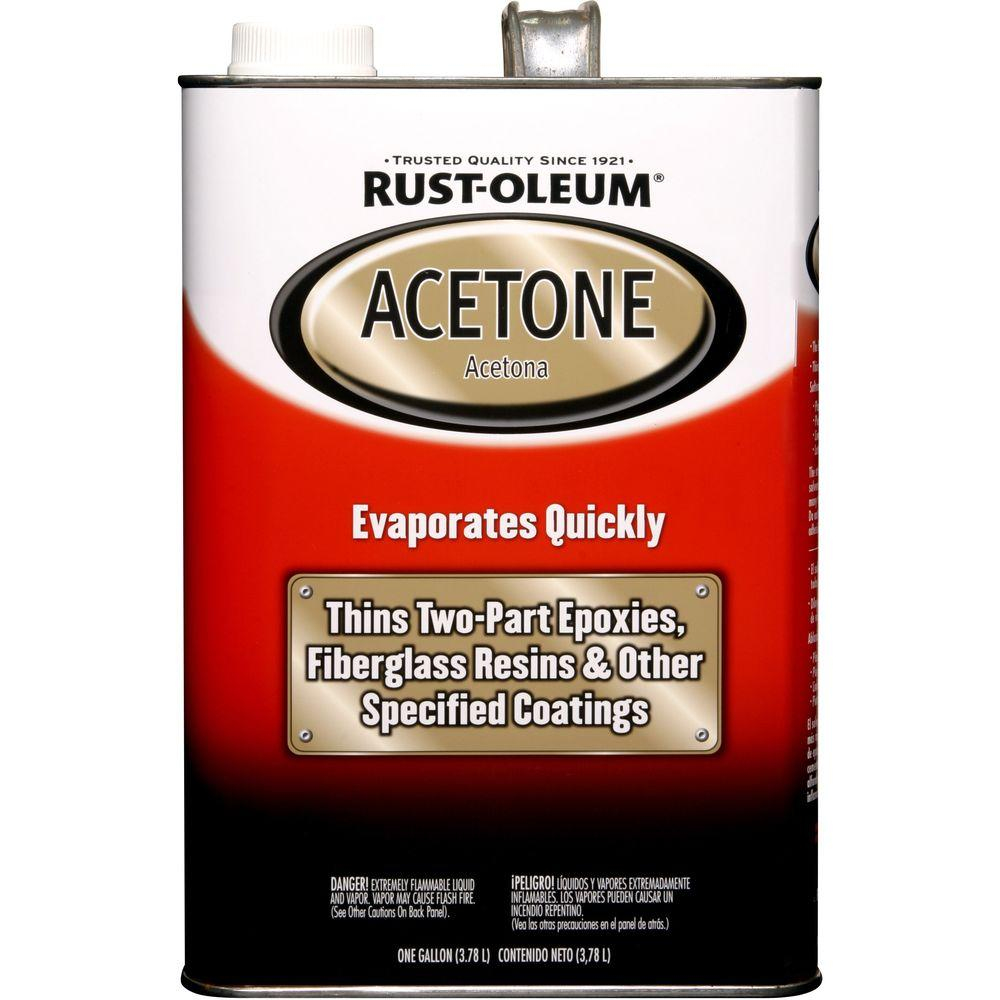 Rust-Oleum Automotive 1 gal. Acetone (Case of 2)
