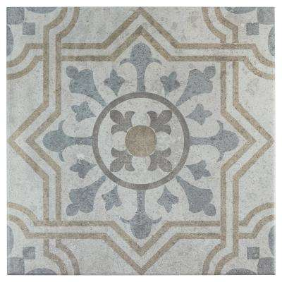 Llanes Jet 13-1/8 in. x 13-1/8 in. Ceramic Floor and Wall Tile (10.76 sq. ft. / case)