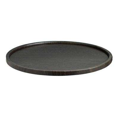 Woodcraft Ebony 14 in. Serving Tray