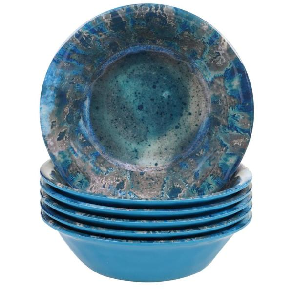 Certified International Radiance Multicolor All Purpose Bowl (Set of 6)