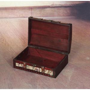 Vintiquewise 12 in x 8 in x 45 in old world map treasure chest internet 300866567 gumiabroncs Image collections