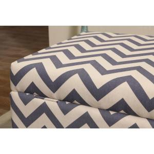 Cool Multi Colored Chevron Patterned Deep Storage Ottoman 91019 Caraccident5 Cool Chair Designs And Ideas Caraccident5Info