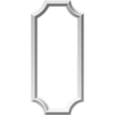 12 in. W x 28 in. H x 1/2 in. P Ashford Molded Scalloped Wainscot Wall Panel