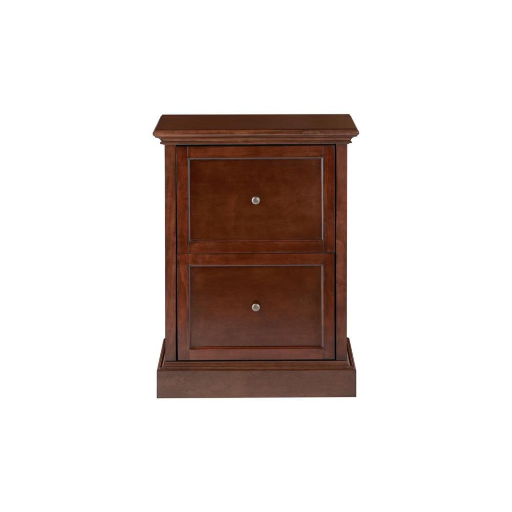 Home Decorators Collection Royce Smokey Brown Wood 2 Drawer File Cabinet (23.5 in. W x 31 in. H) was $249.0 now $149.4 (40.0% off)