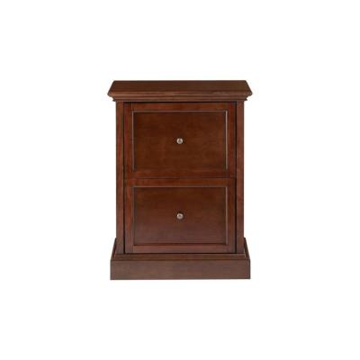 Royce Smokey Brown Wood 2 Drawer File Cabinet (23.5 in. W x 31 in. H)