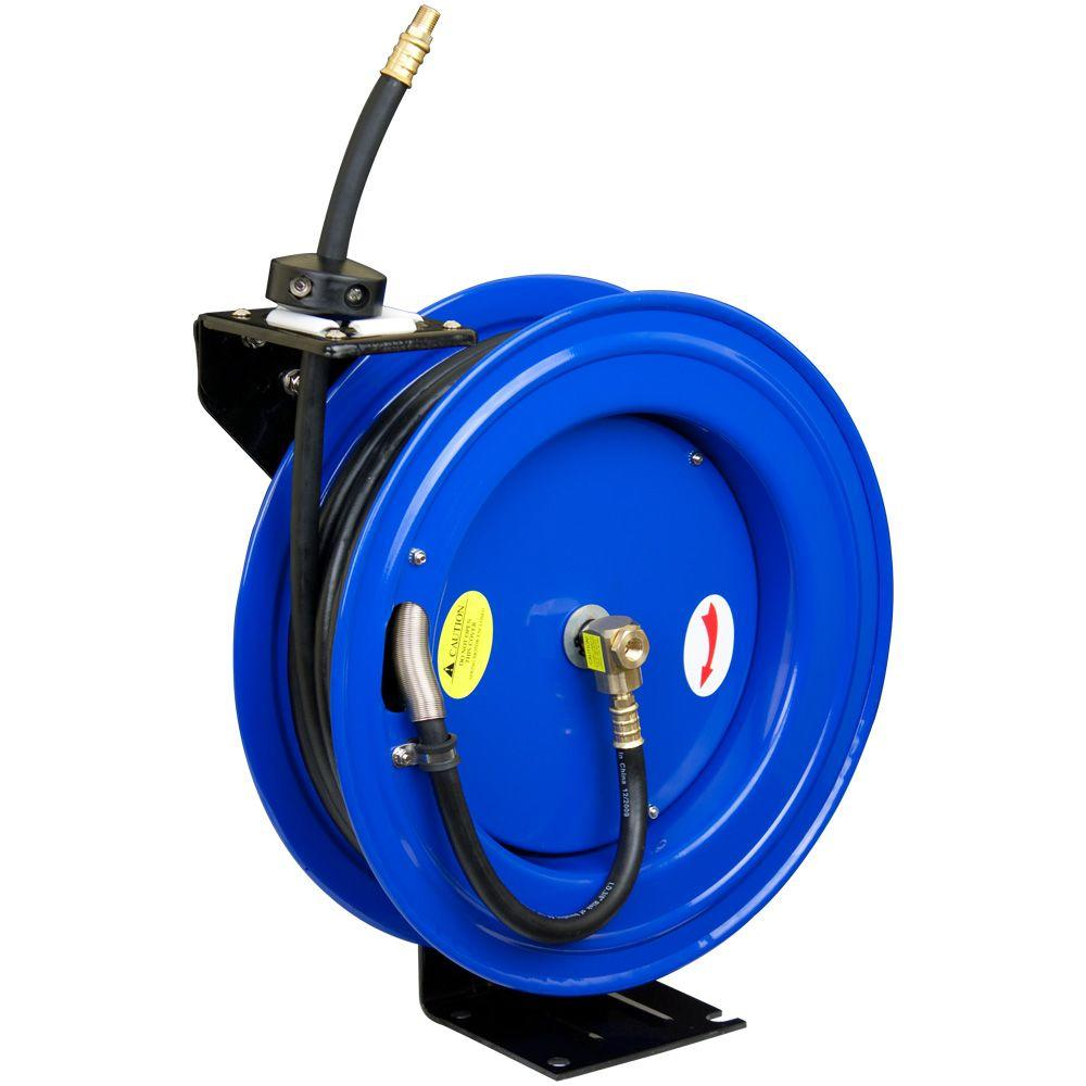 Cyclone Pneumatic 50 ft. x 3/8 in. Retractable Air Hose Reel