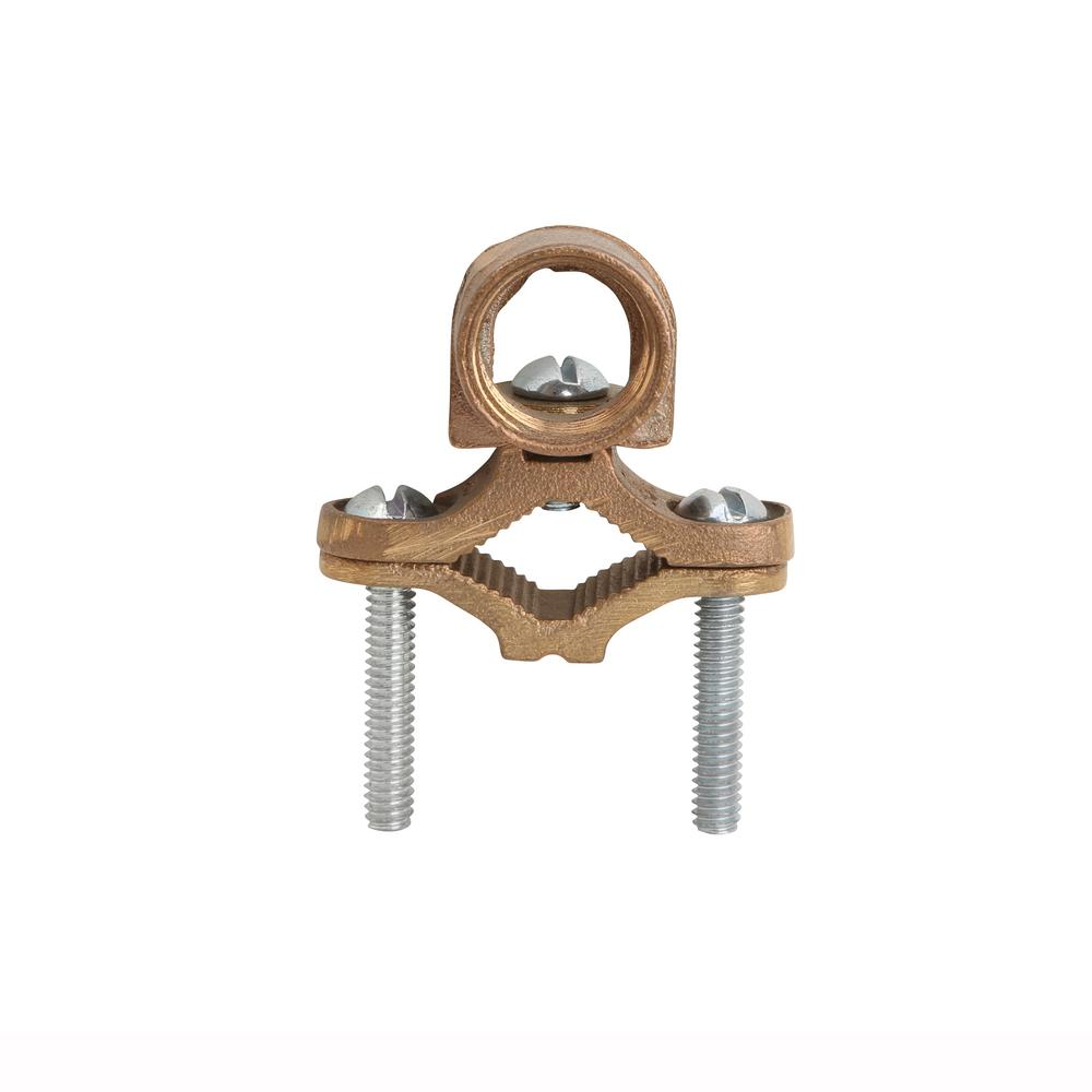 Bronze Ground Clamp 1/2 - 1 in. with 1/2 in. Threaded