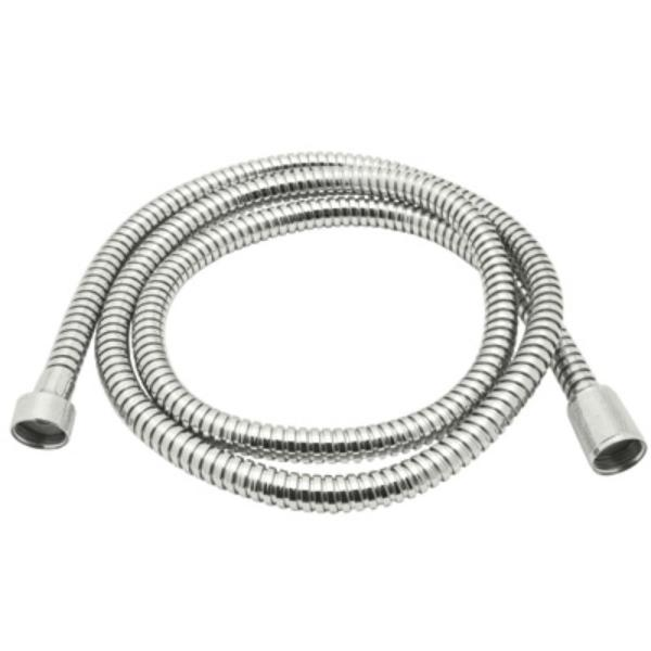 Bossini 59 in. Metal Bath Hose in Polished Nickel
