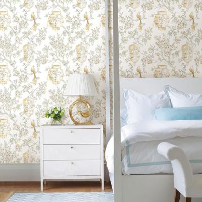 Serenity Honey Lanterns Paper Strippable Roll Wallpaper (Covers 56.4 sq. ft.)