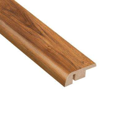 Pacific Hickory 1/2 in. Thick x 1-1/4 in. Wide x 94 in. Length Laminate Carpet Reducer Molding
