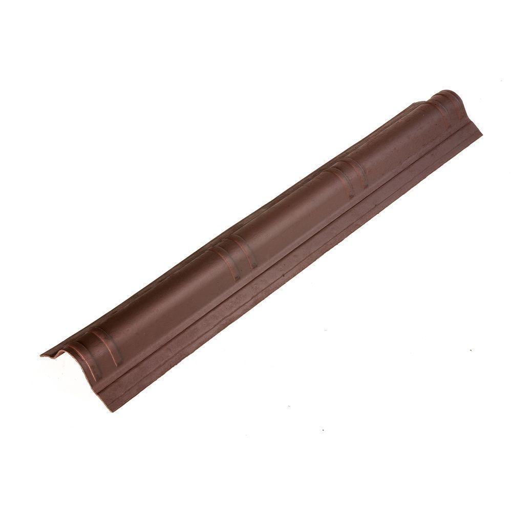 Onduvilla 41.5 in. x 7 in. Siena Brown Slim Cap