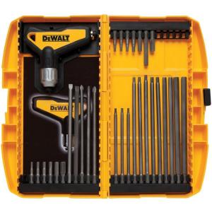 Dewalt Ratcheting T Handle Set 31 Piece Dwht70265 The