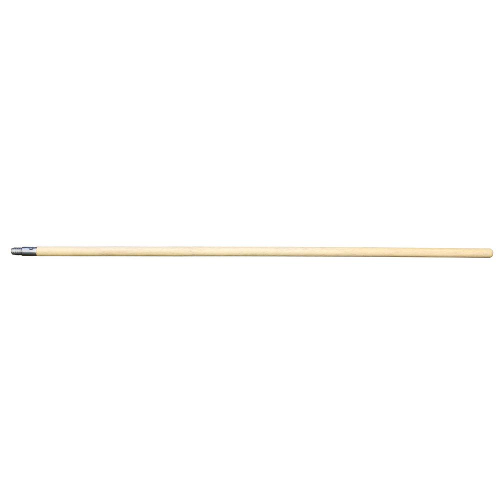 4 ft. Non-Adjusting Wood Extension Pole with Metal Tip (12-Pack)