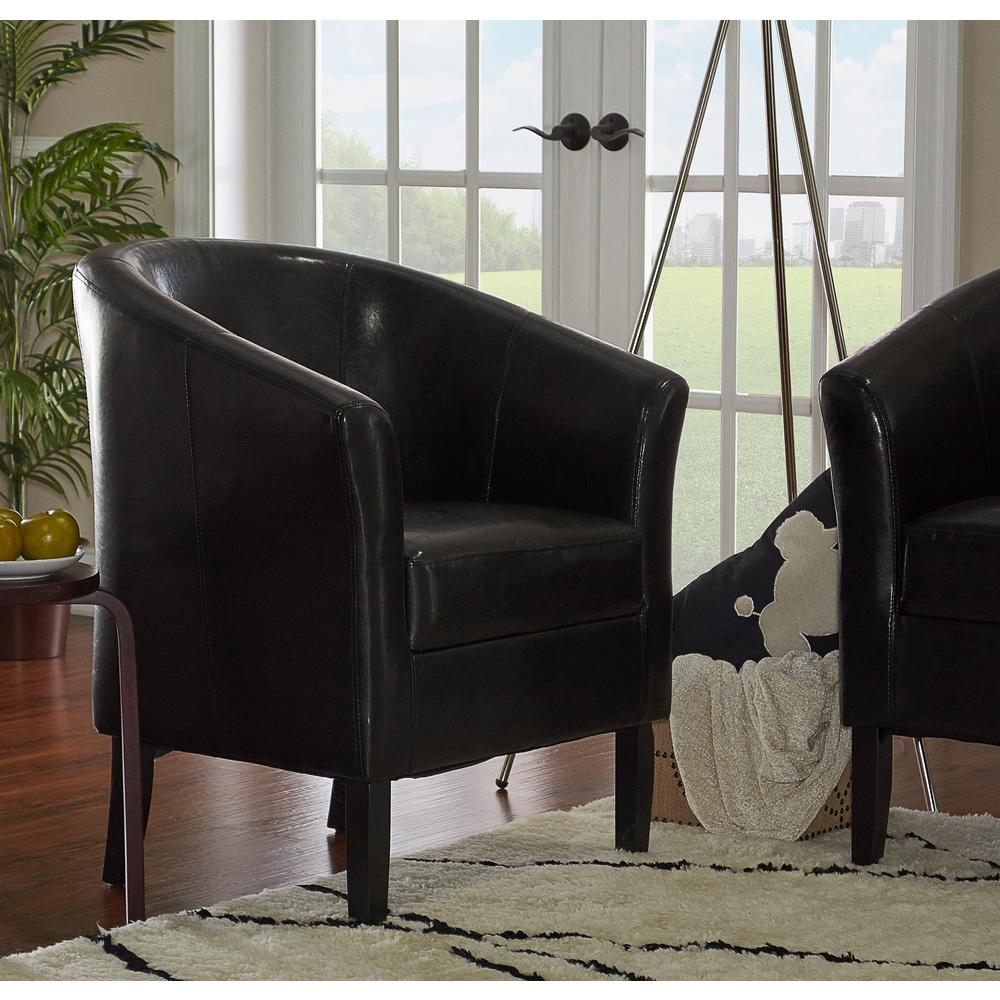 home decorators collection brexley leather club chair home decorators collection simon black club arm chair 13631