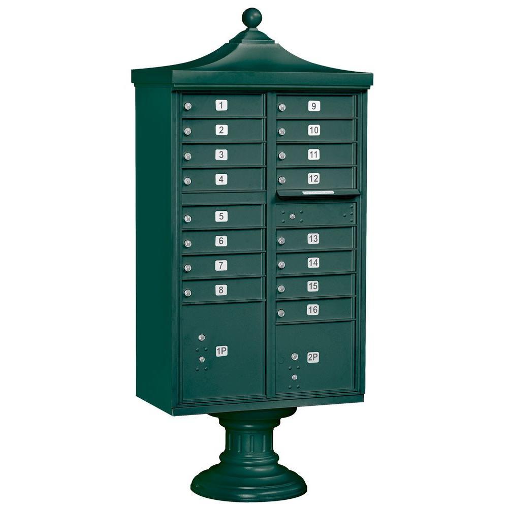 Regency Decorative 16-Compartment Cluster Box Unit